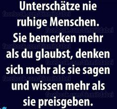 #ruhige menschen