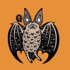 Batty Bat None  by Haypeep's Artist Shop