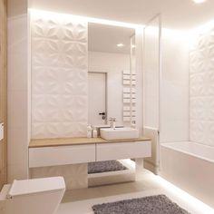 Image may contain: indoor Bathroom Design Luxury, Bathroom Design Small, Bathroom Layout, Modern Bathroom, Home Interior Design, Small Bathroom Inspiration, Bad Inspiration, Interior Inspiration, Bad Styling