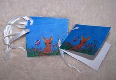 Alpaca Gift Tags  Mini Cards by Marie by mariesimagination on Etsy, $10.00