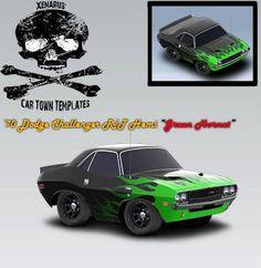 Dodge Challenger 1970 Green Hornet