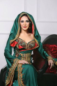 MOROCCAN FASHION - Green Tones - #/\/\-\