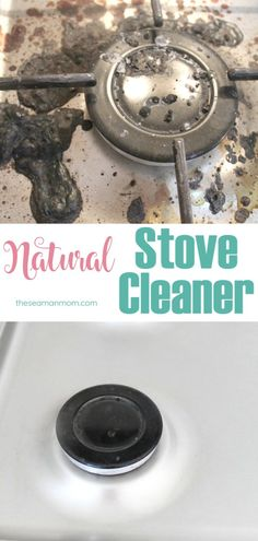 Cleaning your stove top is so easy and quick when you know how to do it! Wanna get it to shine the safe way? Here's how to clean a stove naturally without scratching your stove top or scrubbing the life out of you! Deep Cleaning Tips, House Cleaning Tips, Diy Cleaning Products, Cleaning Solutions, Spring Cleaning, Household Products, Diy Cleaners, Carpet Cleaners, Gas Stove Top