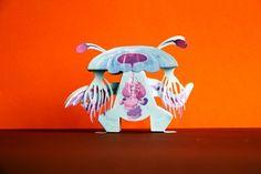 Hellsquid Aquaped - PaperMade™