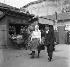 a háttérben a Feszty-körkép (A magyarok bejövetele) pavilonja a mai Vidámpark területén.1939