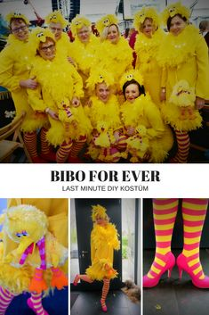 ☀Unbeauftragte Werbung☀DIY BIBO KOSTÜM A pointed last minute costume. Ideal also for groups. We are in love with our homemade BIBO COSTUME. # Last Minute Costume # Bibokostüm # Sesame Street Minion Costumes, Cool Costumes, Adult Costumes, Costumes For Women, Costume Ideas, Halloween Sewing, Fall Halloween, Halloween Party, Halloween Costumes
