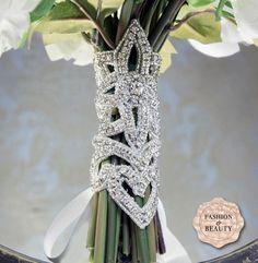 diamond flower bouquet