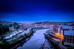 Looking in to Whitby