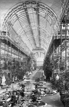 Crystal Palace, Londres_Joseph Paxton, 1851