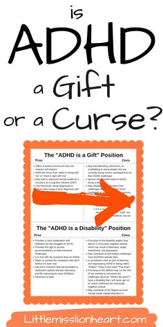 """Do you consider having ADHD to be a gift or a curse? This heated debate is missing some important things that adults with ADHD (and the rest of the world) really need to know. Here's the truth about having ADHD and whether or not it's a """"super power."""" Causes Of Adhd, Adhd Facts, Positive Self Esteem, Adult Adhd, Medical Information, Dyslexia, Anger Management, Helping Others, Disorders"""