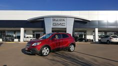 LORETTA's new 2016 Buick Encore! Congratulations and best wishes from Hall Buick GMC and GERMAN FLORES.