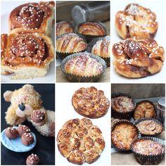 Kladdkaka med extra allt Brownies, Muffin, Breakfast, Recipes, Babies, Cake Brownies, Morning Coffee, Babys, Recipies