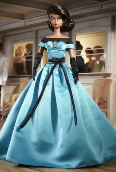 This retro-chic design is perfect for any event a fashionista can dream up. Ball Gown Barbie. $100