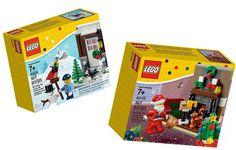 2 Holiday Lego Sets 40124 40125 Santa Winter Fun Christmas Brand New for 2015   eBay