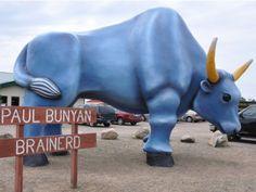 Babe the Blue Ox & Talking Paul Bunyan Paul Bunyan Land 17553 State Highway 18 Brainerd, MN 56401