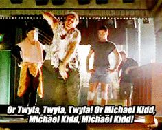 """Armand (Robin Williams): """"You do an eclectic celebration of the dance! You do Fosse, Fosse, Fosse! You do Martha Graham, Martha Graham, Martha Graham! Or Twyla, Twyla, Twyla! Or Michael Kidd, Michael Kidd, Michael Kidd, Michael Kidd! Or Madonna, Madonna, Madonna!... but you keep it all inside."""" -- from The Birdcage (1996) directed by Mike Nichols"""