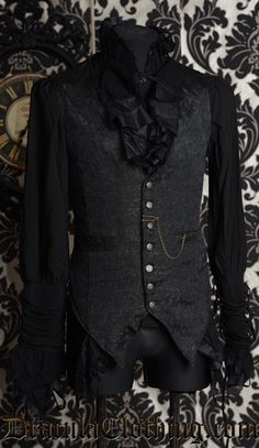 sinistersartorialist:  I want this vest/corset so much! Does anyone know where it's from?
