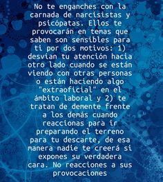 Provocaciones y erosión identitaria en #RelacionesToxicas es #Abuso #Maltrato. #Narcisistas #Sociopatas