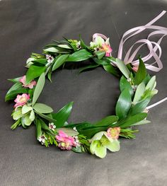 Wedding Party: Flower Girl Floral Crown Floral Crown, Flower Girls, Big Day, Floral Wreath, Wreaths, Party, Flowers, Wedding, Decor