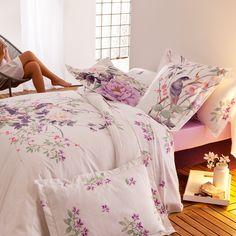 Emilie - Linge de lit à fleursTradition des Vosges