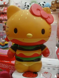 Hello Kitty Hamburger. been looking for this forever! :/