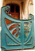 Nancy, France   .... omg this was my host family's door when I studied abroad there - they lived in une maison d'art nouveau ... crazy