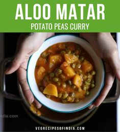Spicy Recipes, Curry Recipes, Vegetarian Recipes, Cooking Recipes, Indian Veg Recipes, Paneer Recipes, Chutney Recipes, Green Peas, Kitchens