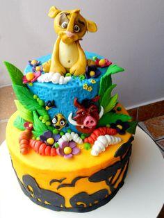 Lion King cake..awesome job!!