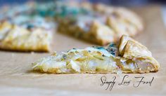 Caramelized Onion Tart with Gruyère & Fresh Thyme