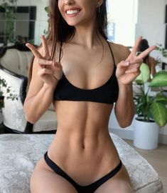 Get fit and stay fit! Learn how to lose fat and tone your body! Body goals September 05 2019 at Skinny Inspiration, Fitness Inspiration Body, Skinny Girl Body, Skinny Girls, Aesthetic Body, Aesthetic Clothes, Ideal Body, Perfect Body, Sexy Bikini