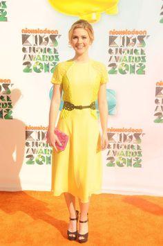 Caroline Sunshine - Kids Choice Awards 2012