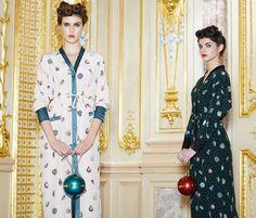 Советские елочные игрушки 30-х годов оживают на праздничных платьях Ulyana Sergeenko