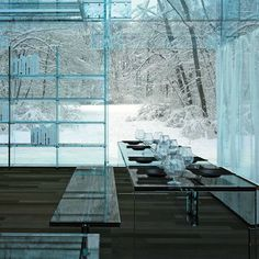 Glass Homes by Santambrogio
