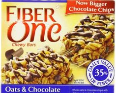 General Mills, Fiber One, Oats & Chocolate, Chewy Bars, Box (Pack of Big Chocolate, Delicious Chocolate, Chocolate Flavors, Diet Food List, Food Lists, Easy Healthy Breakfast, Healthy Snacks, Healthy Eating, Low Calorie Brownies