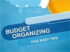 Budget Organzing Tips: How to get organized on a budget! - YouTube- LOVE her idea for the command center!