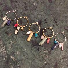 HOME - € Oorring Goud Edelsteen Koraal Jasper Earparty - Diy Jewelry Unique, Diy Jewelry Making, Cute Jewelry, Boho Jewelry, Jewelry Crafts, Beaded Jewelry, Jewelery, Bead Embroidery Jewelry, Diy Earrings