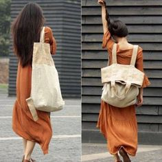 beige white patchwork large canbas-linen backpack-shoulder bag Materials used: cotton with linen, 20oz Measurement:Size/Dimensions/WeightDimensions: 39 x 13 x 64cm (bag) 39 x 13 x 41cm (backpack) / the model's height: 167cm / Weight: 0.9 kg Payment:We accept payment by paypal and credit card. if you would like to pay by credit card, please choose payment by paypal, and follow the guide. Paypal allows payment by credit card. We ship worldwide.Tracking numbers provided.