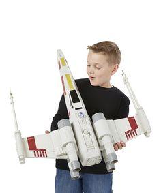 Look at this #zulilyfind! Star Wars X-Wing Fighter Toy #zulilyfinds