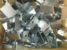 These mild steel chassis brackets have been bent up on our Trumpf 7036 CNC press brakes in Fareham, Hampshire. Press Brake Tooling, Cnc Press Brake, Types Of Sheet Metal, Sheet Metal Work, Laser Cutting Machine, Work Project, About Uk, Metal Working, Your Design