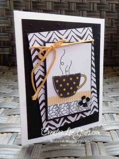 Thanks a Latte by Wendy Lee, #creativeleeyours, Stampin' Up!, Paper Pumpkin