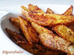 Patatas de luxe o patatas gajo al horno   Comparterecetas.com
