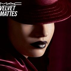 Snuggle into the plush velvet night with new blackened mattes in the deepest, darkest tones you love. Twelve new lip shades glide on like soft suede. Indulge now! #MACVelvetMatte