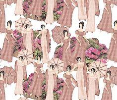 summer stroll fabric by kociara on Spoonflower - custom fabric