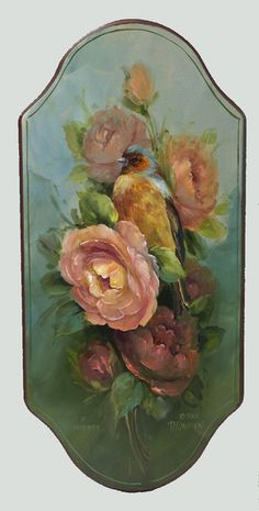 P5014D- Chaffinch and Rose- DOWNLOAD - Jansen Art Store