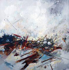 Néant par Geneviève Pratte   #abstractart #abstractpainting #art #painting #peinture #artwork #artist Ouvrages D'art, Decoration, Artwork, Painting, Design, Splash Of Colour, How To Paint, Abstract Backgrounds, Toile