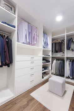 R.K. Konutu : Modern Giyinme Odası Treso İç Mimarlık