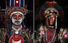 Kalam, Indonesia y Papua Nueva Guinea