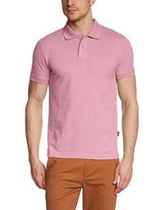 ESPRIT Herren T-Shirt, Gr. Large, Rosa (Sweet Rose 706)