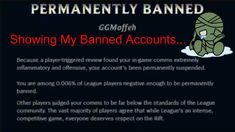 Showing My Banned League Of Legends Account... Its Actually Pretty Funny https://m.youtube.com/watch?v=LtcV_HGgQ_8 #games #LeagueOfLegends #esports #lol #riot #Worlds #gaming