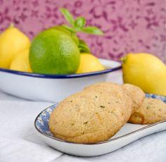 Lemon Lime Basil Cookies #citruslove
